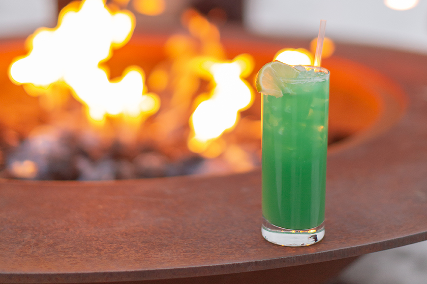 drink by the fire